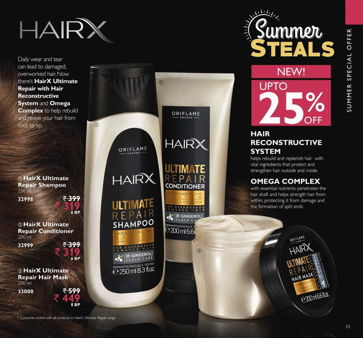 Hair spa-Because damaged hair can be beautiful again
