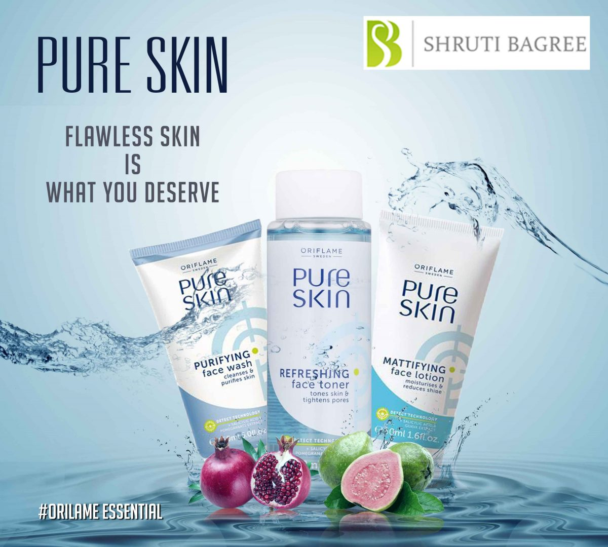 Oriflame's Pure Skin Care Daily Range is worth to buy