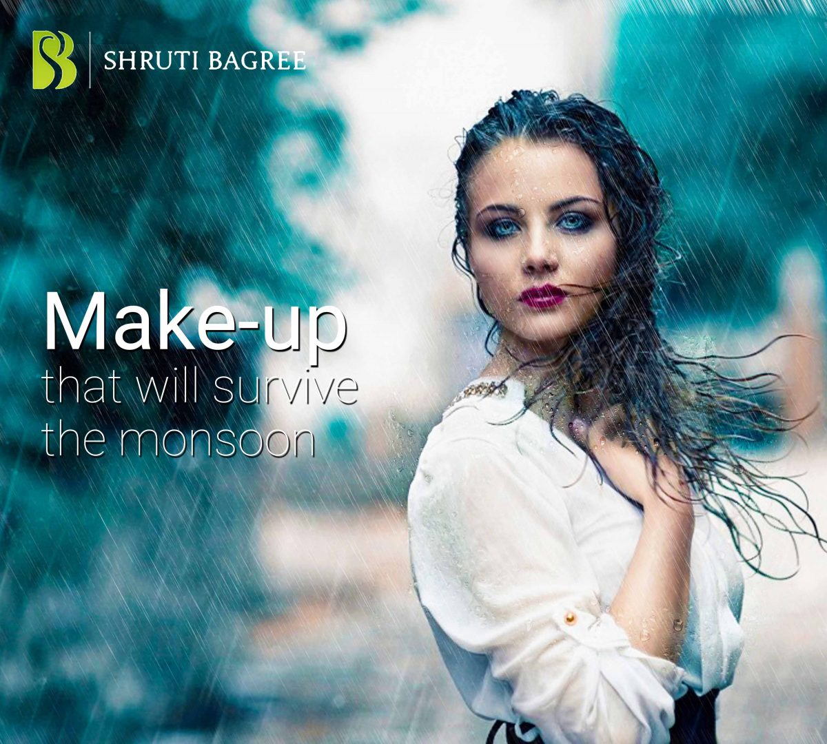 The Monsoon's Make-Up Look